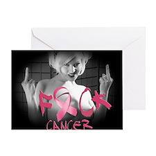 F-Cancer Greeting Card