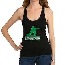 commando1 Racerback Tank Top