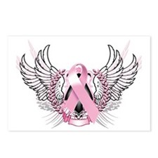 Awareness Tribal Pink Postcards (Package of 8)