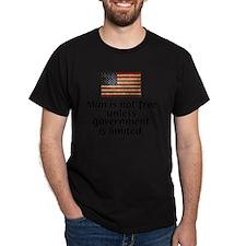 Reagan - Man is Not Free T-Shirt