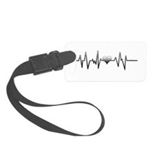 Let your heart beat to the beat Luggage Tag