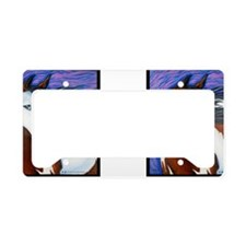 Paint Horse Luna License Plate Holder