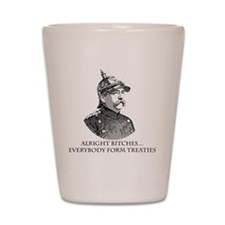 Bismarck_Treaties Shot Glass