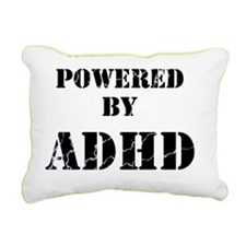 adhd lightening Rectangular Canvas Pillow