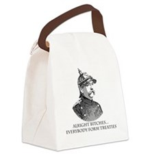 Bismarck_Treaties Canvas Lunch Bag