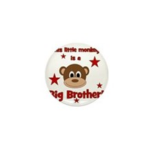 thislittlemonkey_bigbrother Mini Button