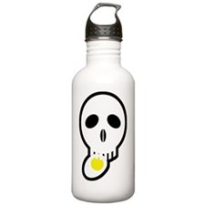 skull_egg02 Water Bottle