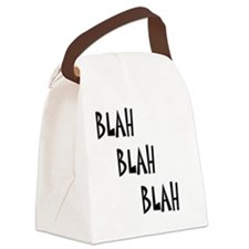 Blah3 Canvas Lunch Bag