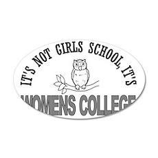 girlsschool2 35x21 Oval Wall Decal