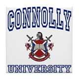 CONNOLLY University Tile Coaster
