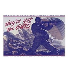 airborne_poster Postcards (Package of 8)