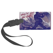 airborne_poster Luggage Tag