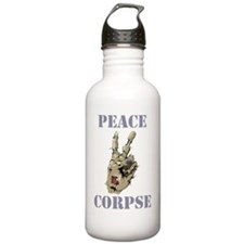 peace corpse.gif Water Bottle