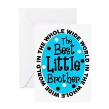 little bro all Greeting Card