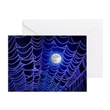 Night Web Greeting Card