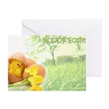 happyeasterfront Greeting Card