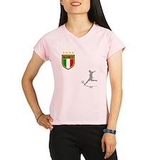 italian soccer(blk) Performance Dry T-Shirt