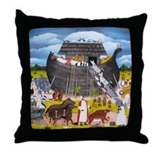 boat 003 Throw Pillow