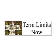 Term Limits Now Car Magnet 10 X 3