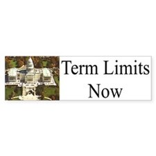 Term Limits Now Bumper Bumper Sticker