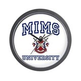 MIMS University Wall Clock