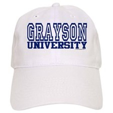 GRAYSON University Baseball Cap