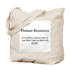 Human resources Tote Bag
