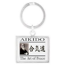 aikido 2 Landscape Keychain