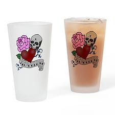 Loveless bite PNG Drinking Glass