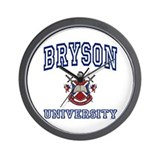 BRYSON University Wall Clock