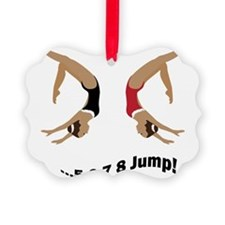 2-jump2girl Ornament