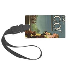 Women of Downton side Luggage Tag