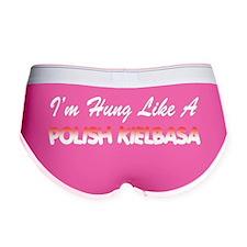 Hung Like A Polish Kielbasa Women's Boy Brief