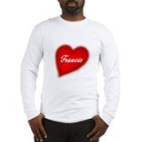 I love Frances Long Sleeve T-Shirt