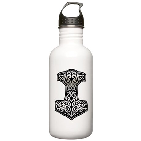 Thor__s_Hammer_chrome Stainless Water Bottle 1.0L