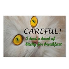 BowlofBitchy_Mousepad Postcards (Package of 8)