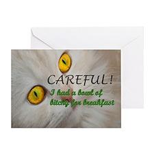 BowlofBitchy_Mousepad Greeting Card