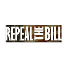 REPEALtheBILL-flagCP Car Magnet 10 x 3