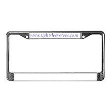 2-RightSleeveTees License Plate Frame