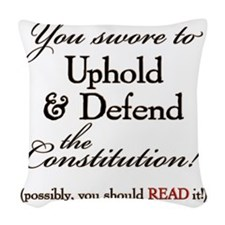 ReadIt! Woven Throw Pillow