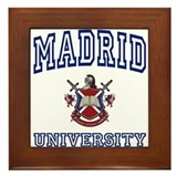 MADRID University Framed Tile