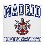 MADRID University Tile Coaster