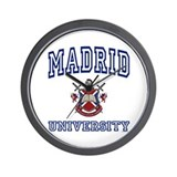 MADRID University Wall Clock
