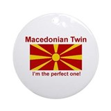 Macedonian Twin (Perfect) Ornament