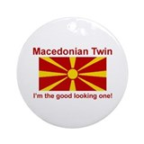 Macedonian Twin (Good Looking) Ornament