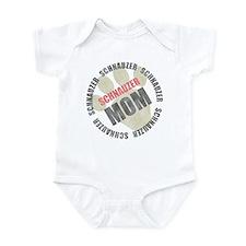 Schnauzer Mom Infant Bodysuit