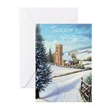 Cute Snow landscape Greeting Cards (Pk of 10)