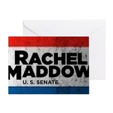 ART Shirt Rachel Maddow for Senate Greeting Card