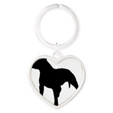 pit-bull-silhouette1.gif Heart Keychain