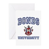 BONDS University Greeting Cards (Pk of 10)